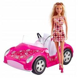 Simba Lalka Steffi Love w letnim samochodzie