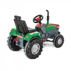 WOOPIE Traktor na Pedały Farmer ClassicTrac z Klaksonem Ciągnik