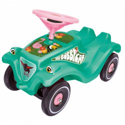 Jeździk Odpychacz Big Bobby Car Classic Flamingo Klakson