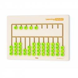 Viga Toys Tablica Sensoryczna Nauka Alfabetu