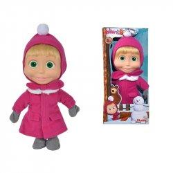 SIMBA Lalka Masza miękka w zimowym ubraniu 23 cm