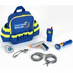 Plecaczek Policyjny z Wyposażeniem Dla Dzieci Klein