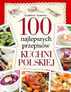 100 najlepszych przepisów kuchni polskiej czerwona