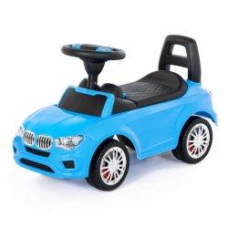 Samochód Jeździk Super Car Niebieski Polesie
