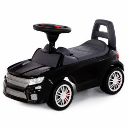 Samochód Jeździk Super Car Czarny Polesie
