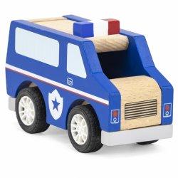 VIGA Drewniany Radiowóz Policyjny Policja
