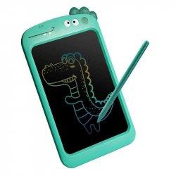 WOOPIE Tablet Graficzny 10.5' Dinozaur dla Dzieci do Rysowania Znikopis + Rysik