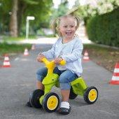 Big Jeździk Rowerek Biegowy Ciche Koła Runbike Zielony