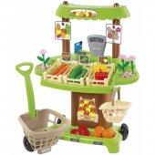 Ecoiffier Supermarket Sklep z Warzywami Owocami 35elem.