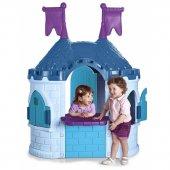 FEBER Domek Ogrodowy dla Dzieci Zamek Frozen Kraina Lodu II