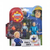 Simba Figurki Strażak Sam Penny i Gareth z akcesoriami